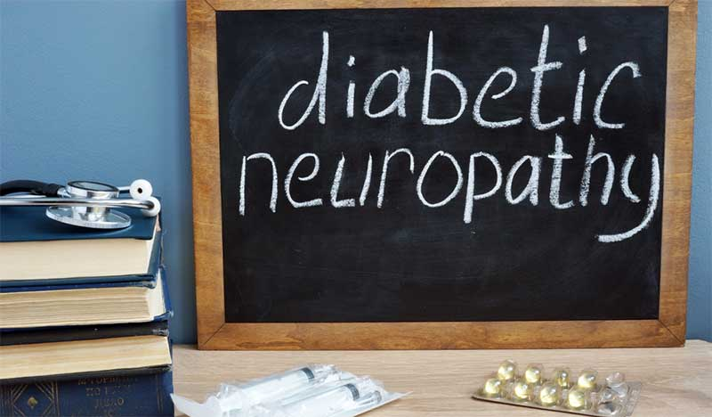 Diabetic Peripheral- Neuropathy - laser therapy for the patients