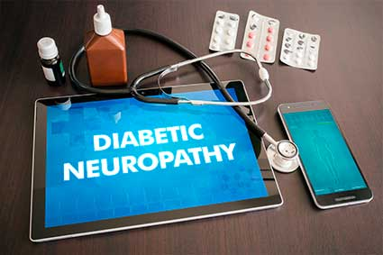 Effect of Modified Laser Transcutaneous Irradiation on Pain and Quality of Life in Patients with Diabetic Neuropathy - What is Diabetic Neuropathy